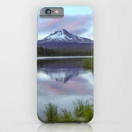 Mt Hood Sunset Trillium Lake  7-12-19 iPhone Case