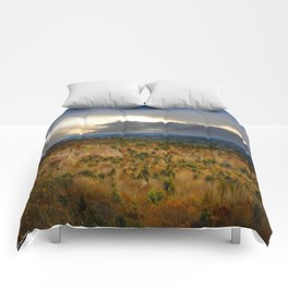 Overlook From Bradbury Mountain Comforters