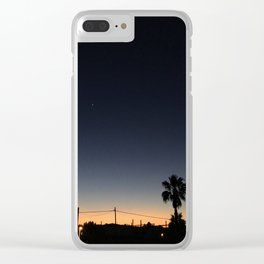 Ibiza, Sant Antonio bay at sunset Clear iPhone Case