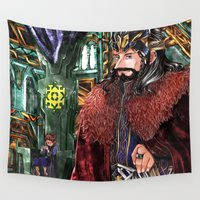 thorin Wall Tapestries featuring Consort AU by NON6