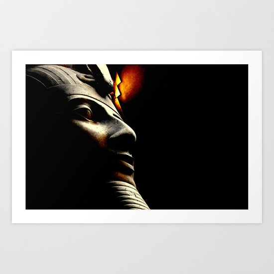 Egyptian Mystery Art Print