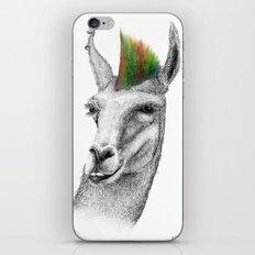 Llamahawk iPhone & iPod Skin