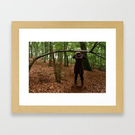 I'm not shallow, truly not....  Framed Art Print