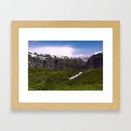 The Troll Seat Framed Art Print