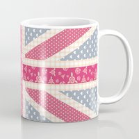 england Mugs featuring England Love by herejustbc;