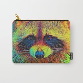 AnimalColor_Racoon_002 Carry-All Pouch