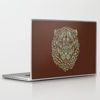 royal Laptop & iPad Skins featuring Lion (Royal) by Norman Duenas