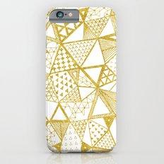 Golden Doodle triangles iPhone 6s Slim Case