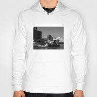 montreal Hoodies featuring Old Port Montreal by Christophe Chiozzi