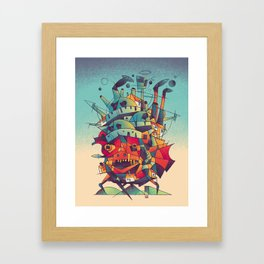 Moving Castle Framed Art Print