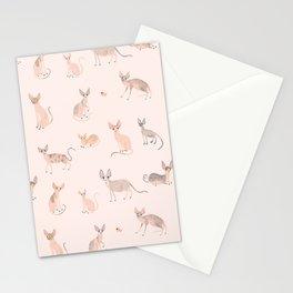 Sphynx Cats Stationery Cards