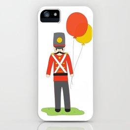 Balloon Soldier iPhone Case
