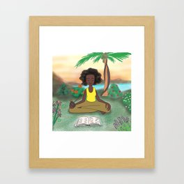 Woke Beauty Framed Art Print