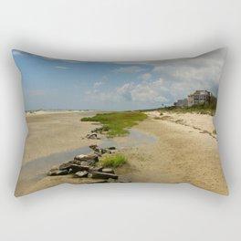 The Golden Islands Beauty Rectangular Pillow