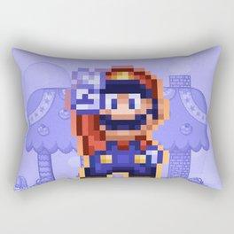 Peace Mario Rectangular Pillow