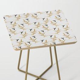 Hummingbird & Flower II Side Table