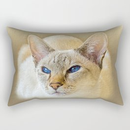 SIAMESE CAT LOVE Rectangular Pillow