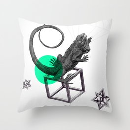 Zoologica Serie: Ambition Throw Pillow
