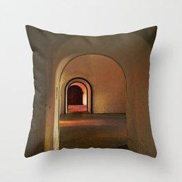 Cristobal Corridor Throw Pillow
