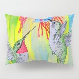 J Humming Bird Pillow Sham