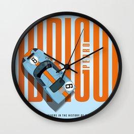 Pedro Rodriguez Tribute Wall Clock