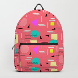 Memphis Forever - Coral Backpack