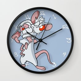 Pinky and the Brain Wall Clock