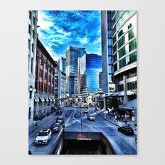 City Landscape Canvas Print