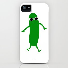 Cool as a cucumber iPhone Case