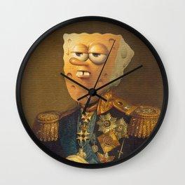 General Spongebob Portrait | Fan Art Painting Wall Clock