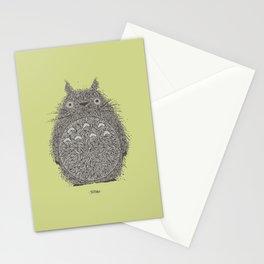 Avocado Totoro Stationery Cards
