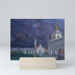 Landscape venecia Mini Art Print