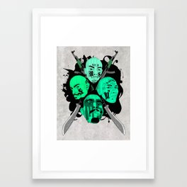 The Mara Framed Art Print