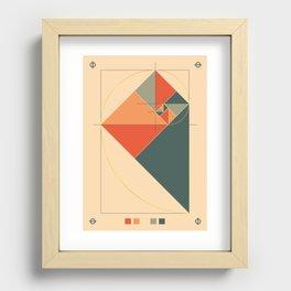 Fibonacci Experiment I Recessed Framed Print