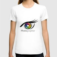 photographer T-shirts featuring Photographer by Jatmika jati
