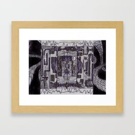 tpf_005_backdrops Framed Art Print