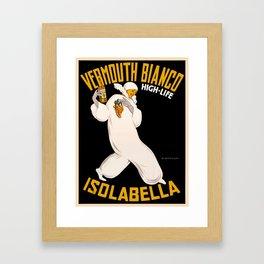 Vintage poster - Vermouth Bianco Framed Art Print