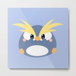 Crested Penguin Metal Print