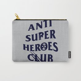 Anti Superheroes Club Carry-All Pouch