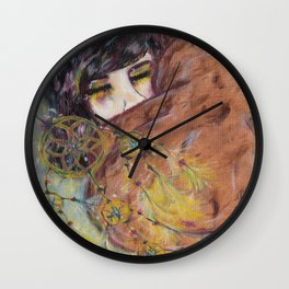 Out of the war Wall Clock