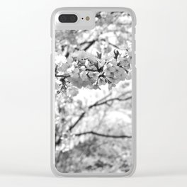 Where The White Blossoms Grow Clear iPhone Case