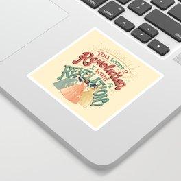 Revelation Sticker