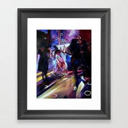 The Bride's Dance. Framed Art Print