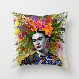 Gitana Frida Throw Pillow
