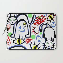 Cats Eyes by Lorloves Design Laptop Sleeve