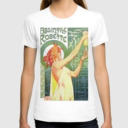Absinthe Robette Art Nouveau T-shirt
