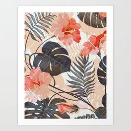 Tropical Garden Art Print