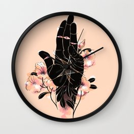 Ace of Pentacles Wall Clock