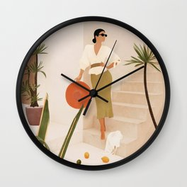 Wonders of the New Day Wall Clock