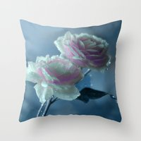 romance Throw Pillows featuring Romance  by Lena Photo Art